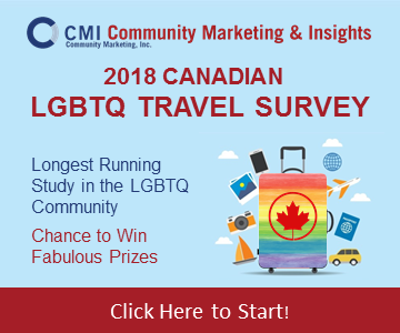 CMI's Canadian LGBTQ Travel Survey 2018
